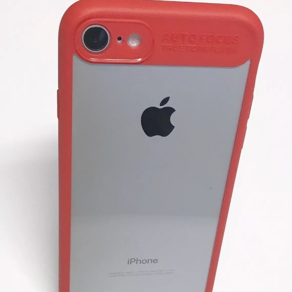 New Iphone 7 And Iphone 8 Red Case From Almas Closet On Poshmark